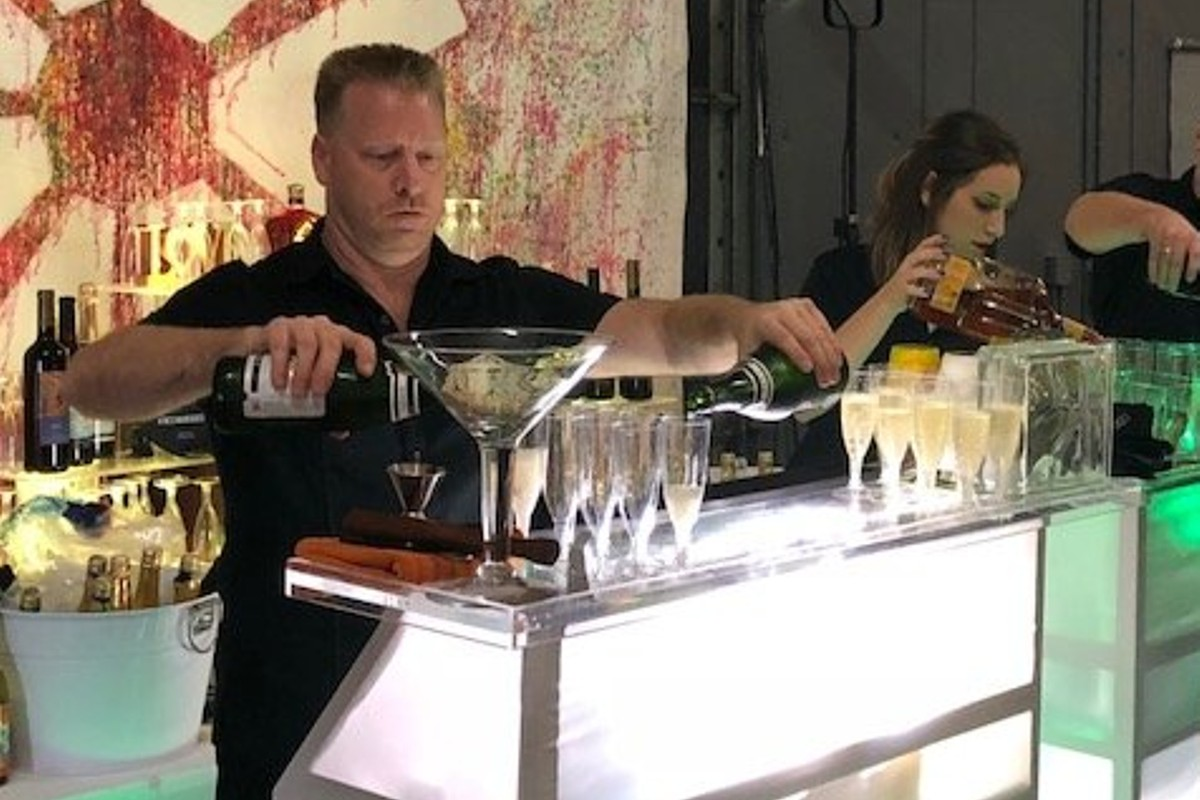 All Beverage Catering - Lake Tahoe weddings - hard at work