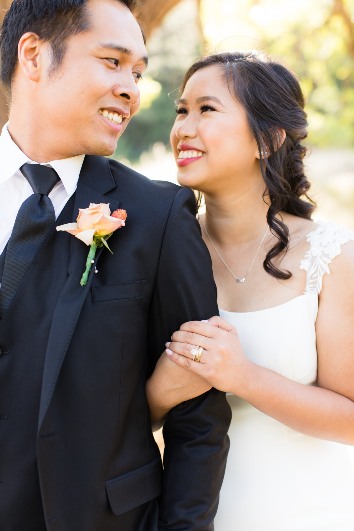 B&B Photography Lake Tahoe wedding - happy couple