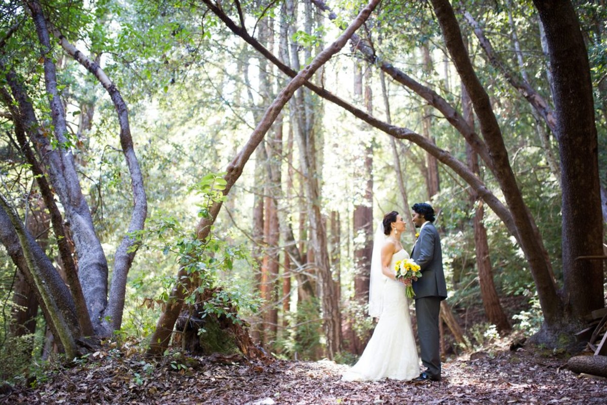 Beau & Arrow Event Co. - Lake Tahoe Wedding Planner - couple in forest