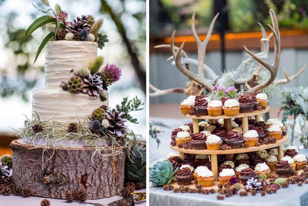 Lake Tahoe wedding Cake and Desserts