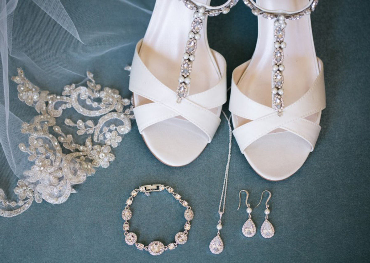 accessories real wedding Tahoe Engaged