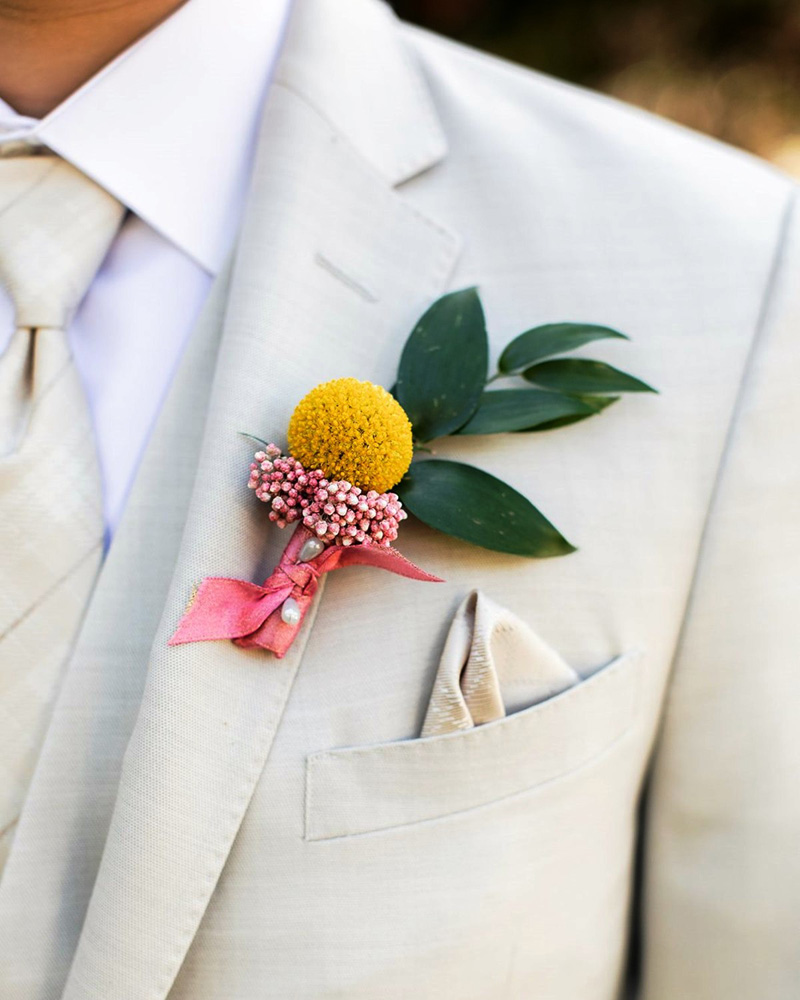 Inspirations by Gina - Lake Tahoe florist - groom's boutonniere