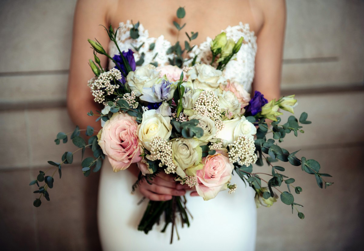 Inspirations by Gina - Lake Tahoe florist - bride's bouquet