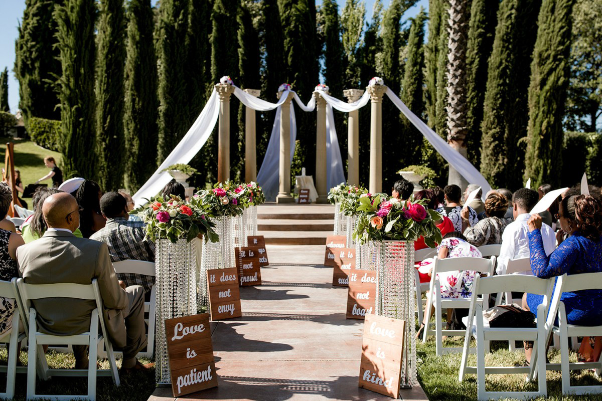 Inspirations by Gina - Lake Tahoe florist - ceremony decor