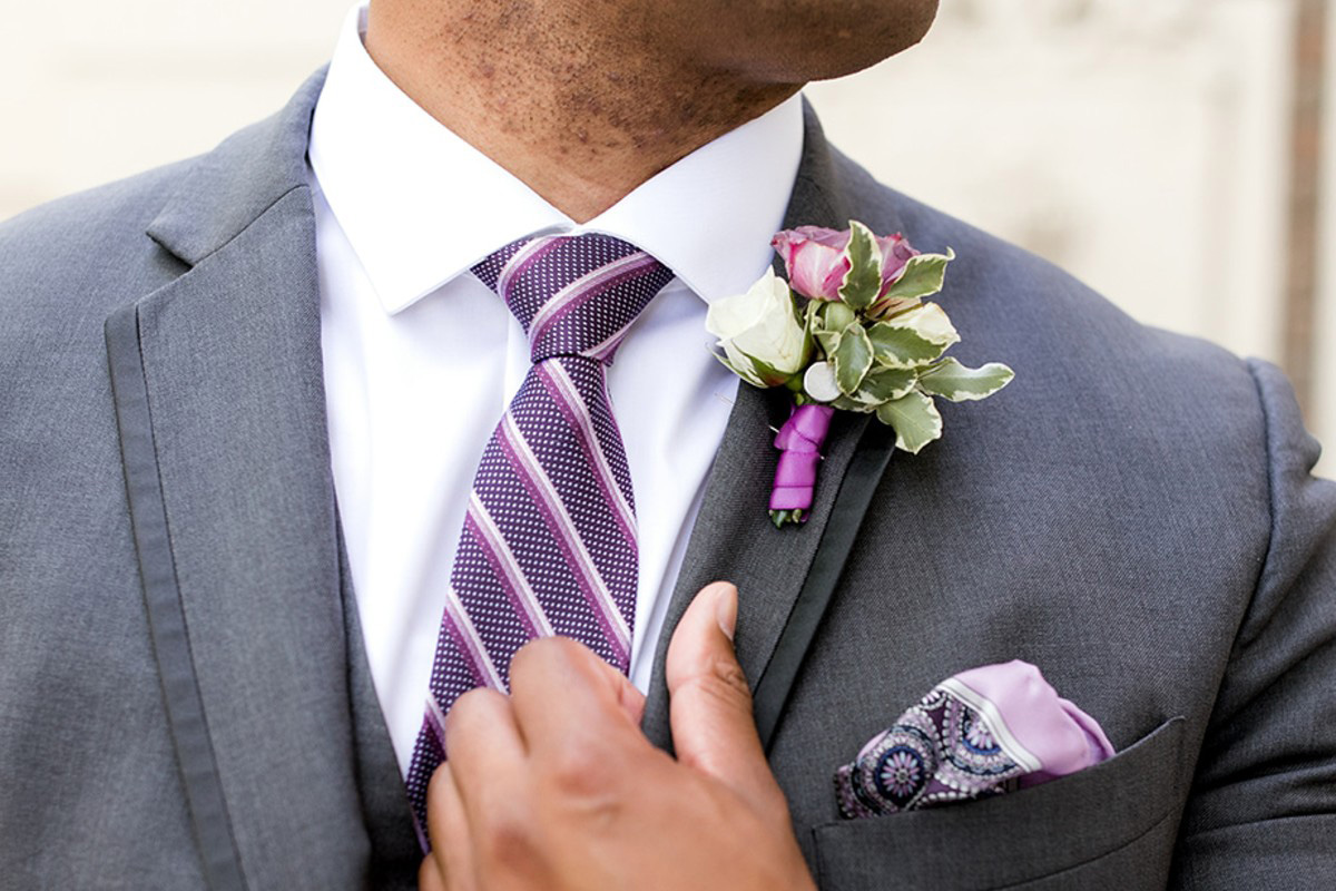 Inspirations by Gina - Lake Tahoe florist - groom with boutonniere