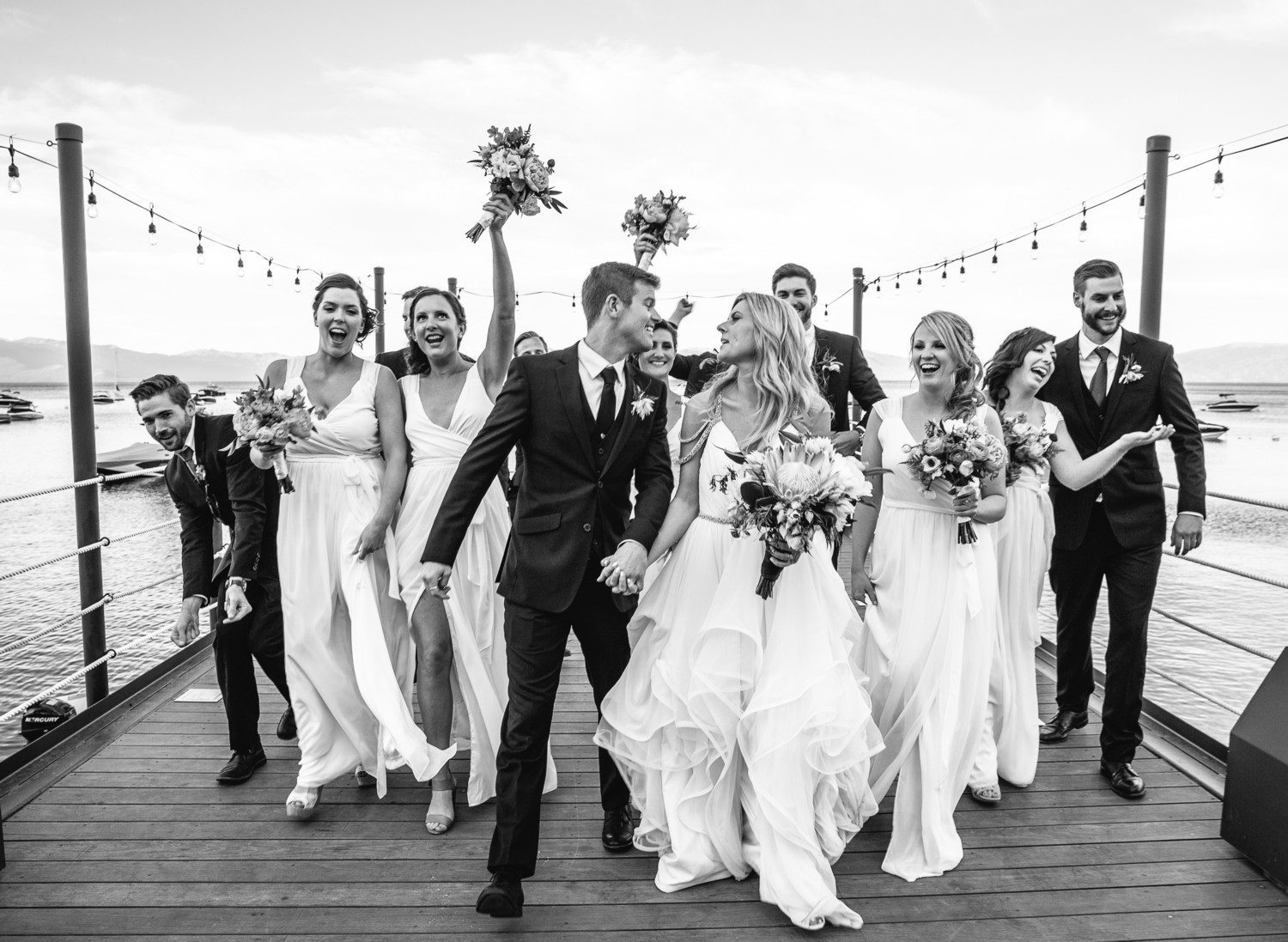 Lake Tahoe wedding Just Married!