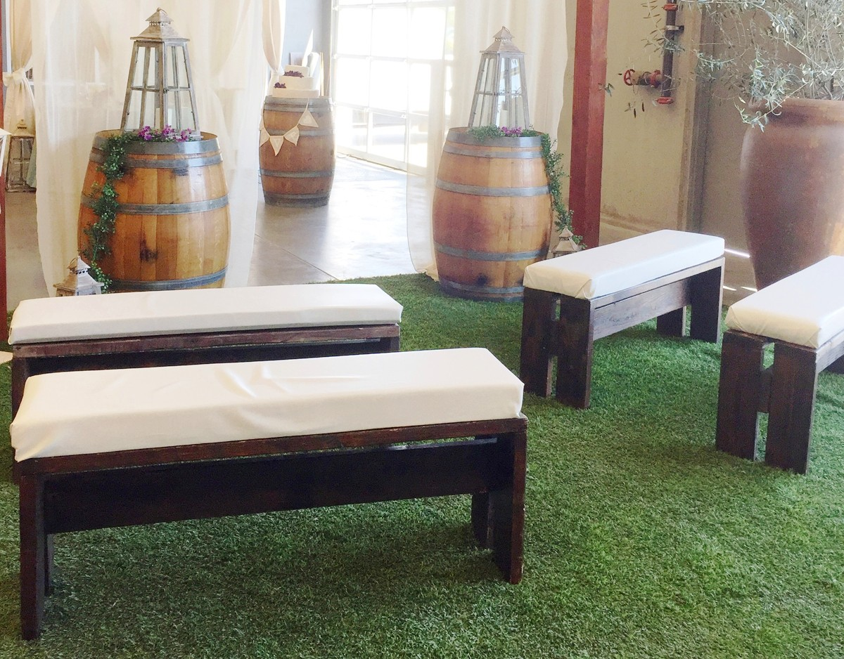 ceremony benches celebrations party rentals wedding furniture