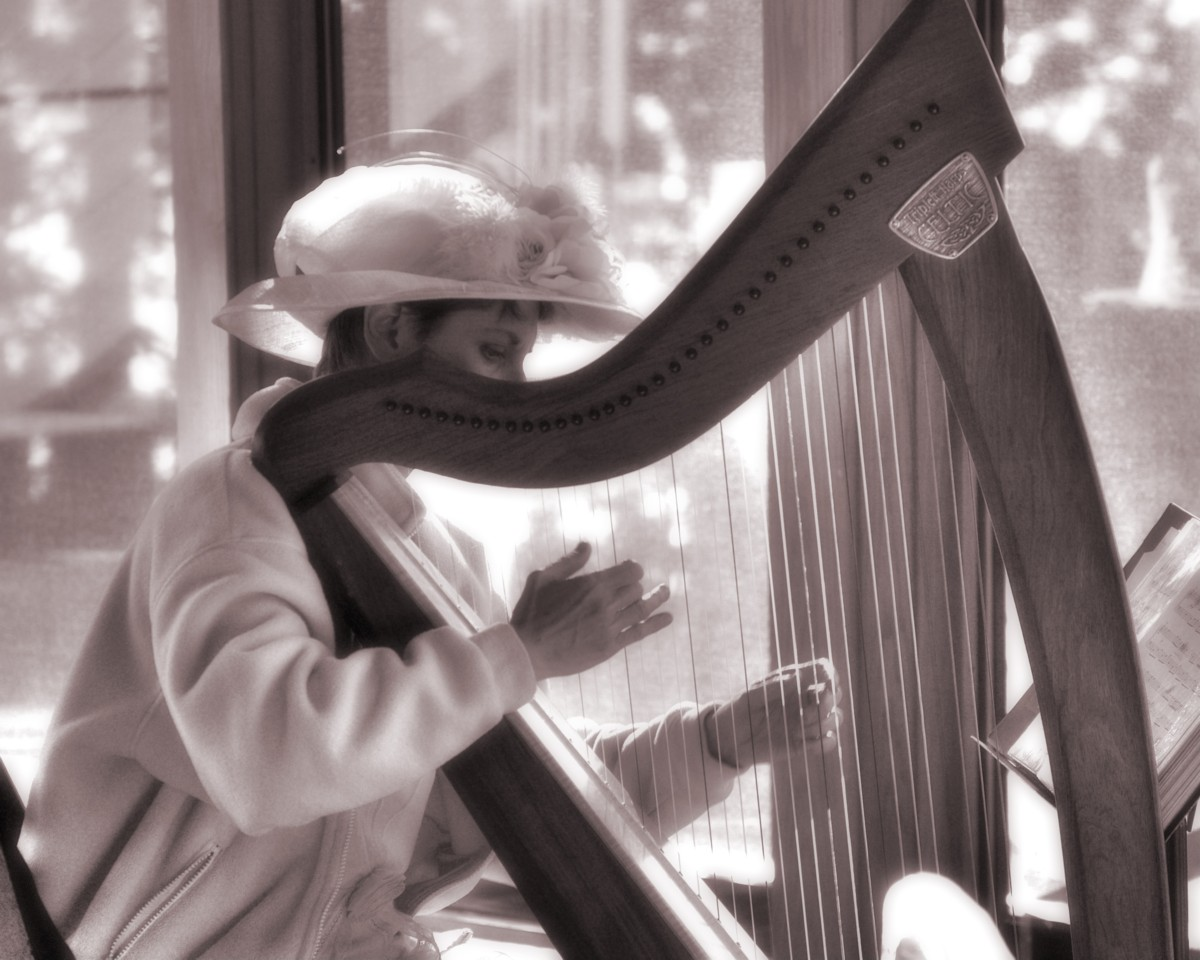 WeddingPhotoWithHarp