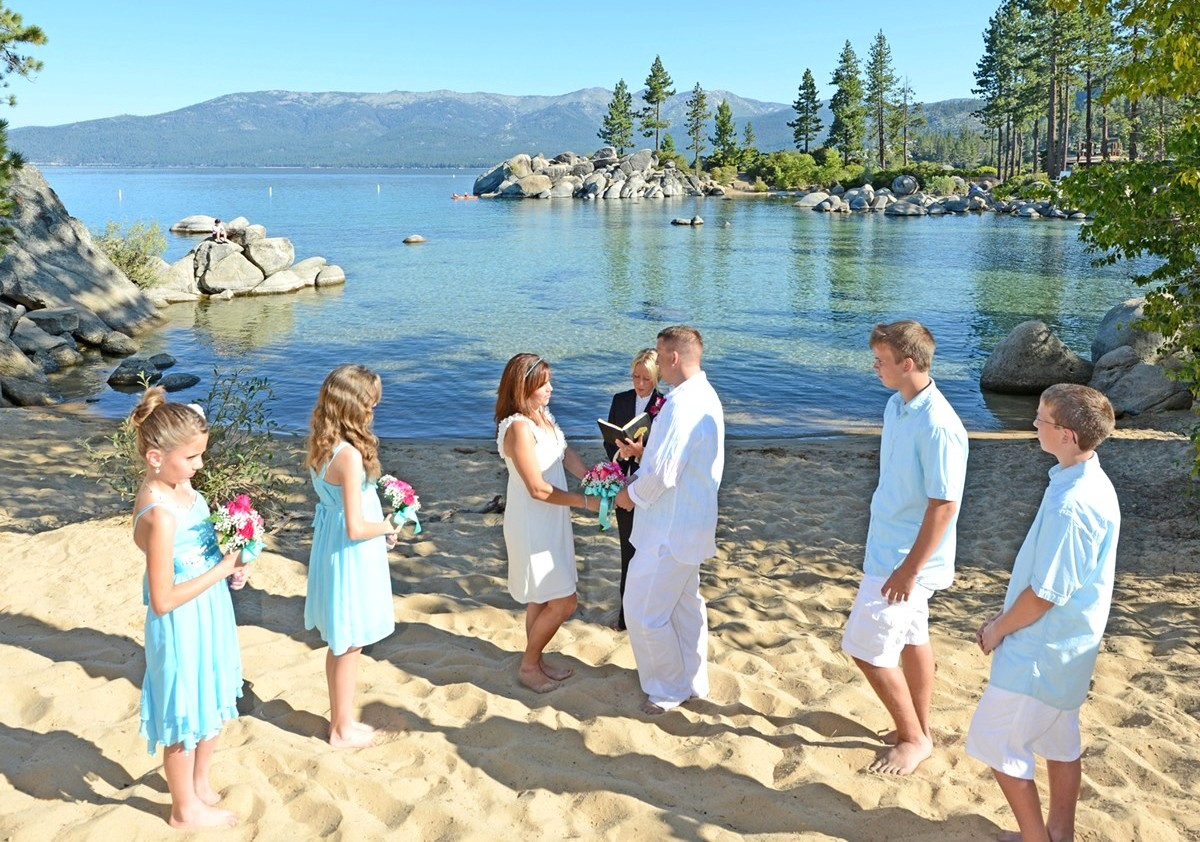Lake Tahoe wedding officiant Ceremony of Love