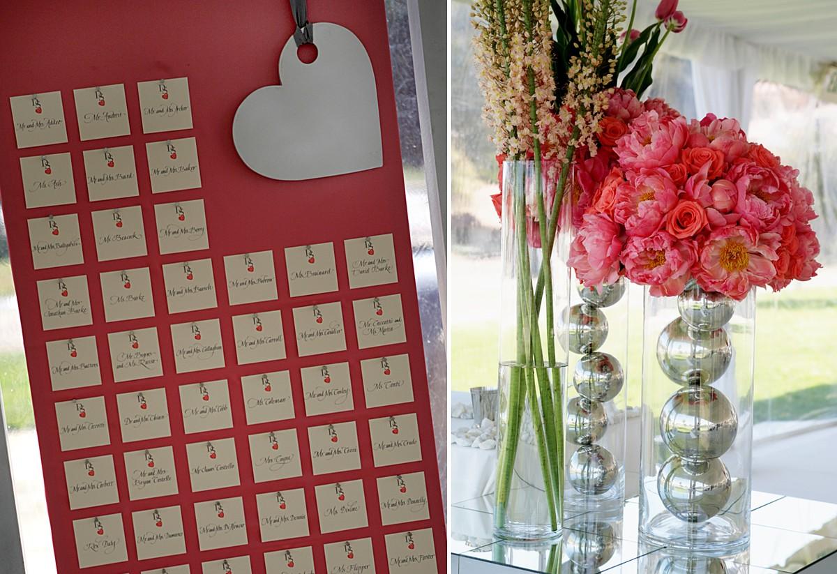 Gilardi Escort Cards & Floral