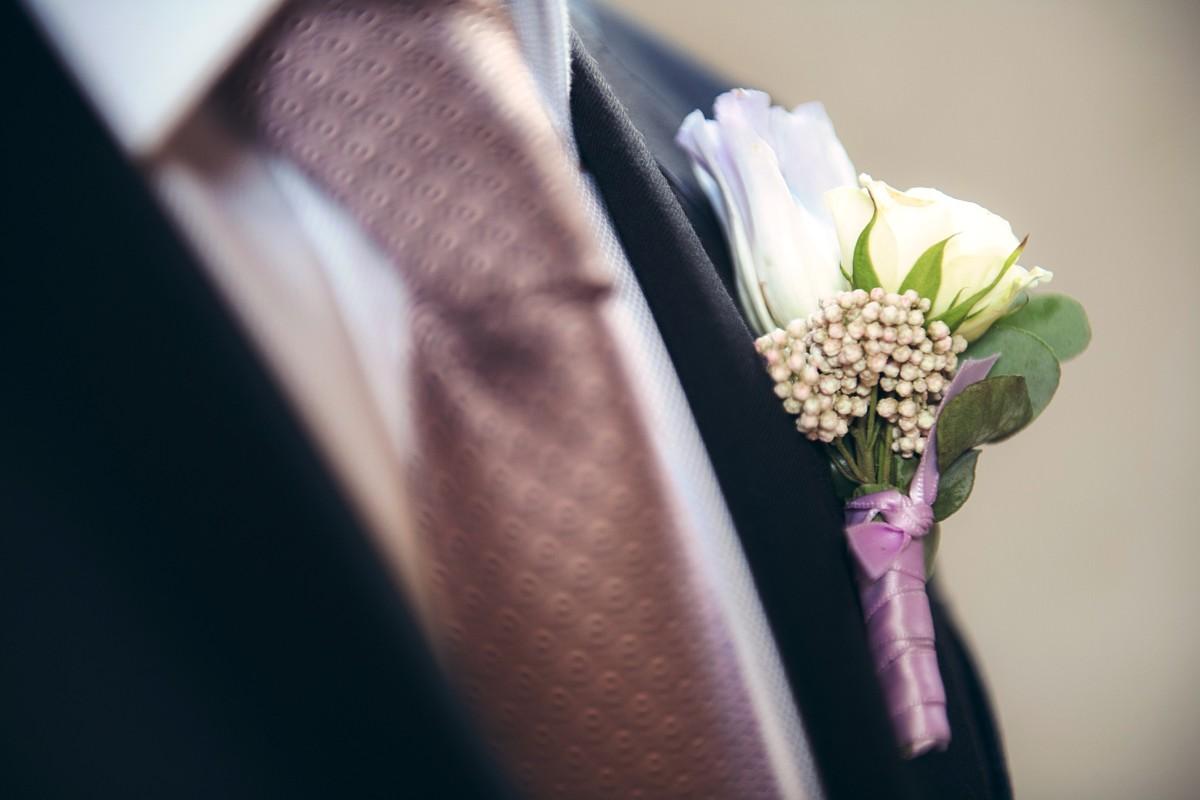 Inspirations by Gina - Lake Tahoe wedding florist - boutonniere