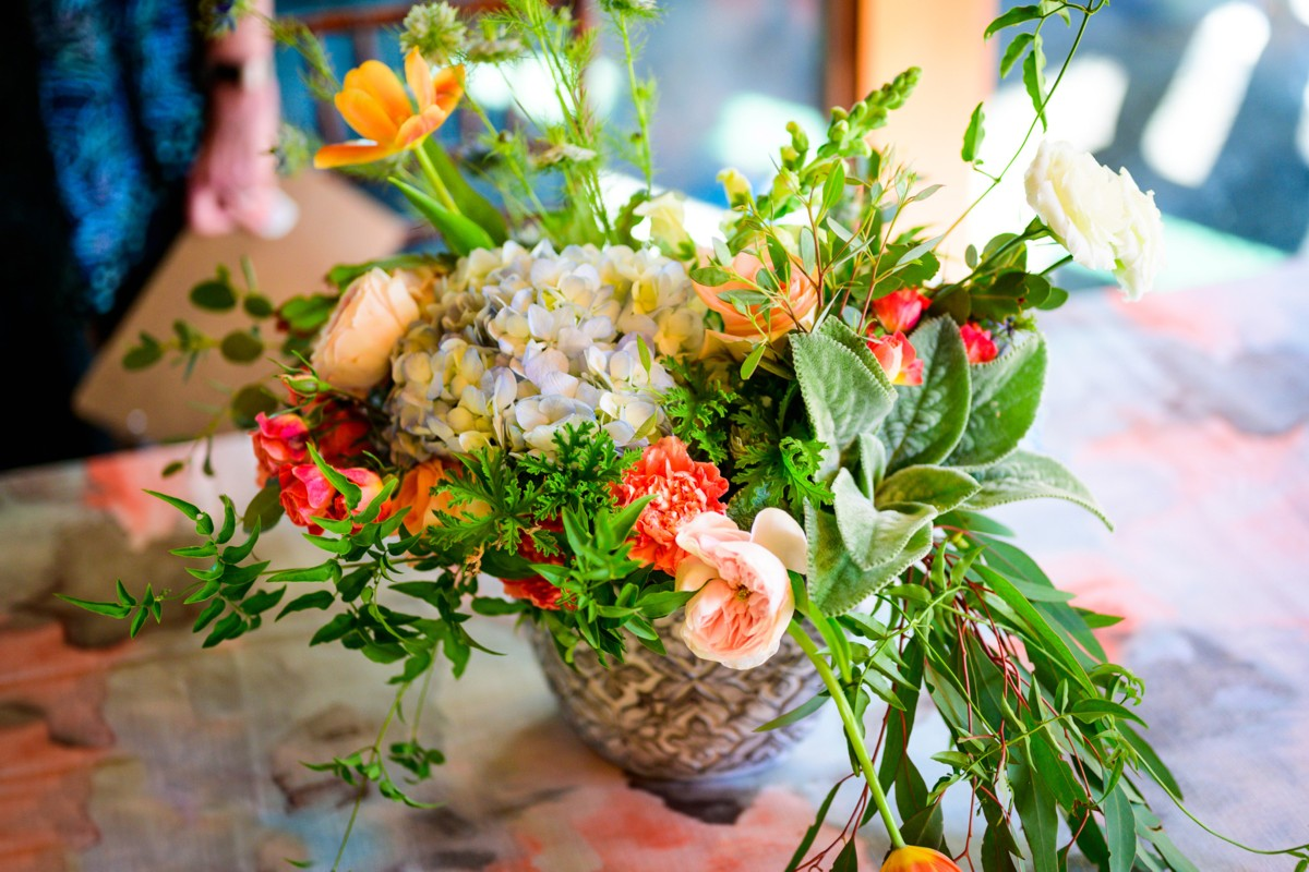 Inspirations by Gina - Lake Tahoe wedding florist - table decor