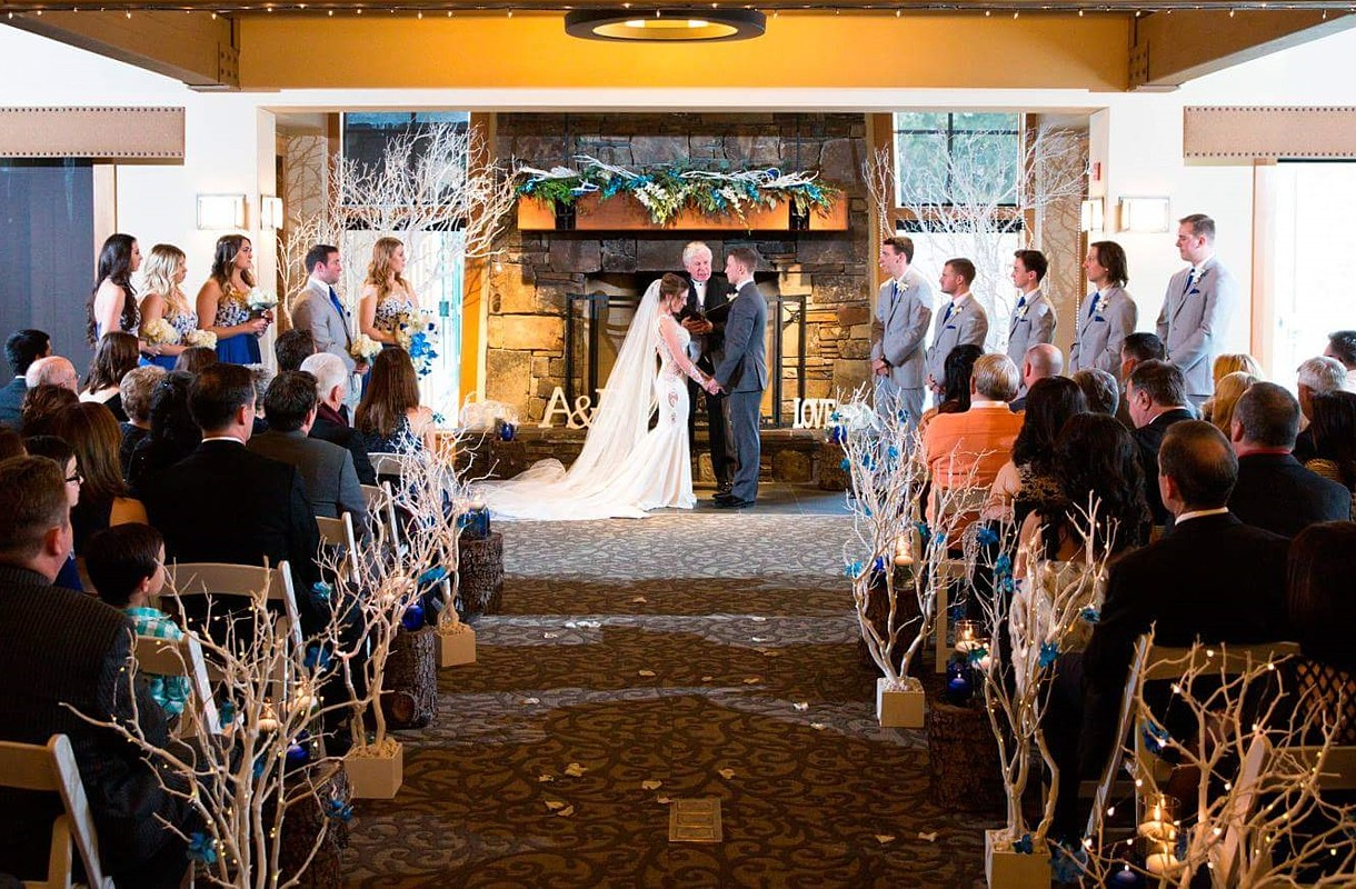 Wedding Ceremony Lake Tahoe Incline Village Chateau