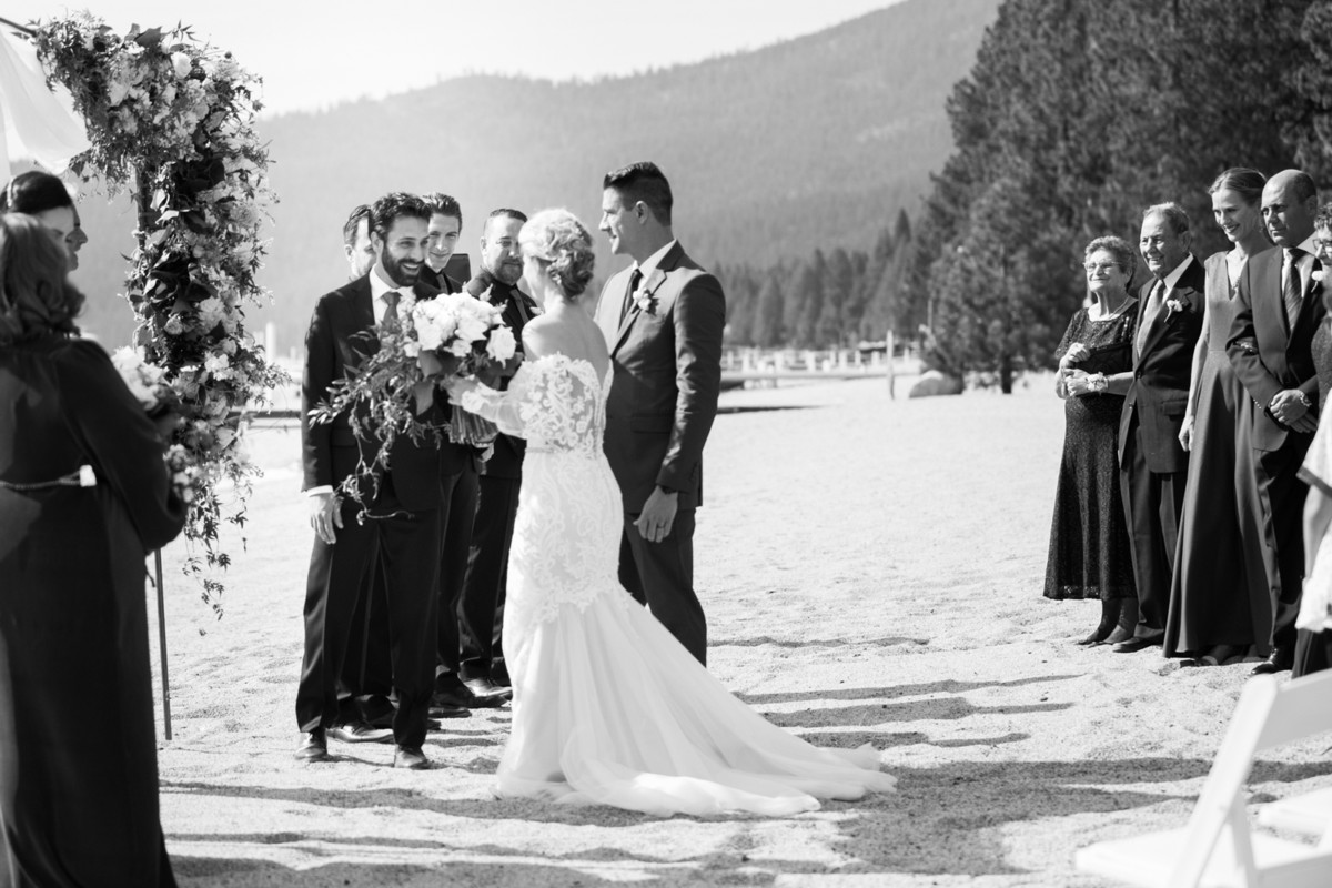 Marcella Camille Events - Lake Tahoe wedding planner - ceremony
