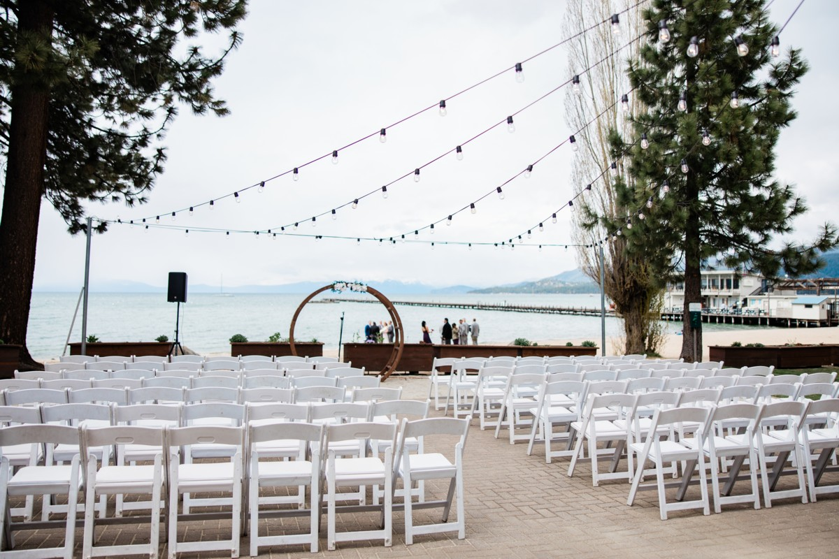 Marcella Camille Events - Lake Tahoe wedding planner - ceremony area