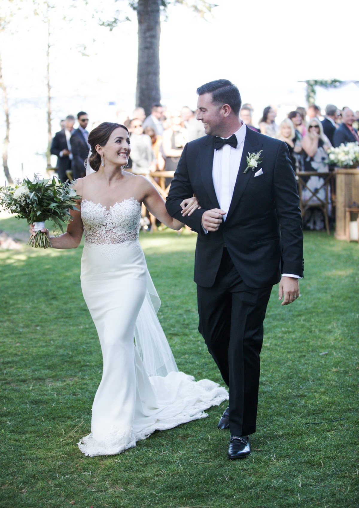 Marcella Camille Events - Lake Tahoe wedding planner - happy couple just married