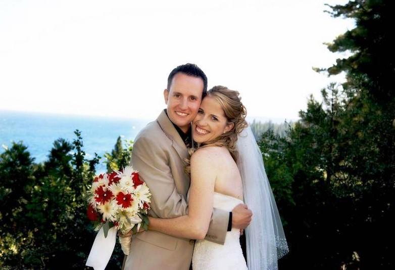 Mountain High Weddings Lake Tahoe happy couple