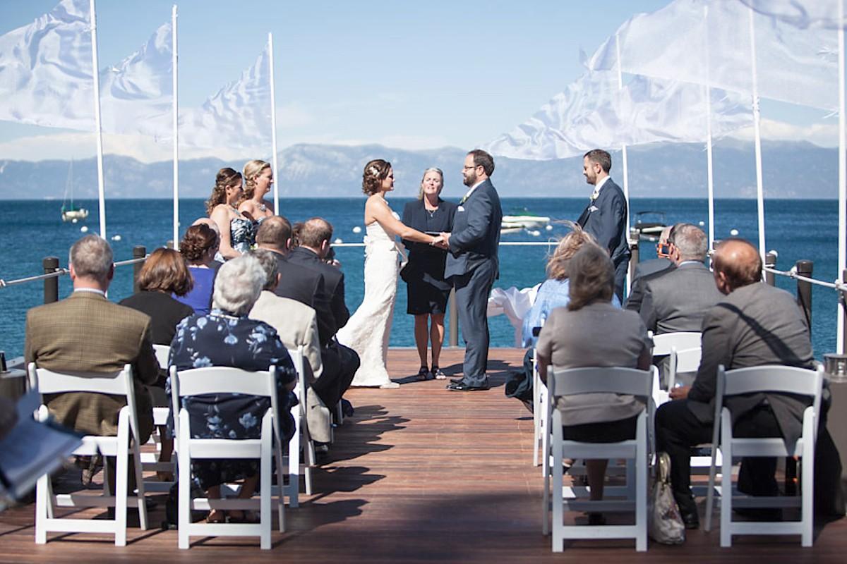 Mountain High Weddings Lake Tahoe West Shore Cafe