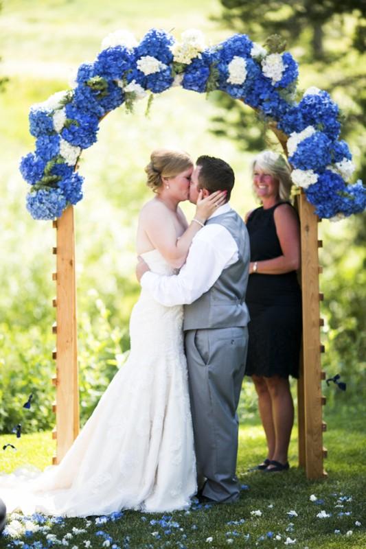 Mountain High Weddings Lake Tahoe ceremony at Sugar Bowl