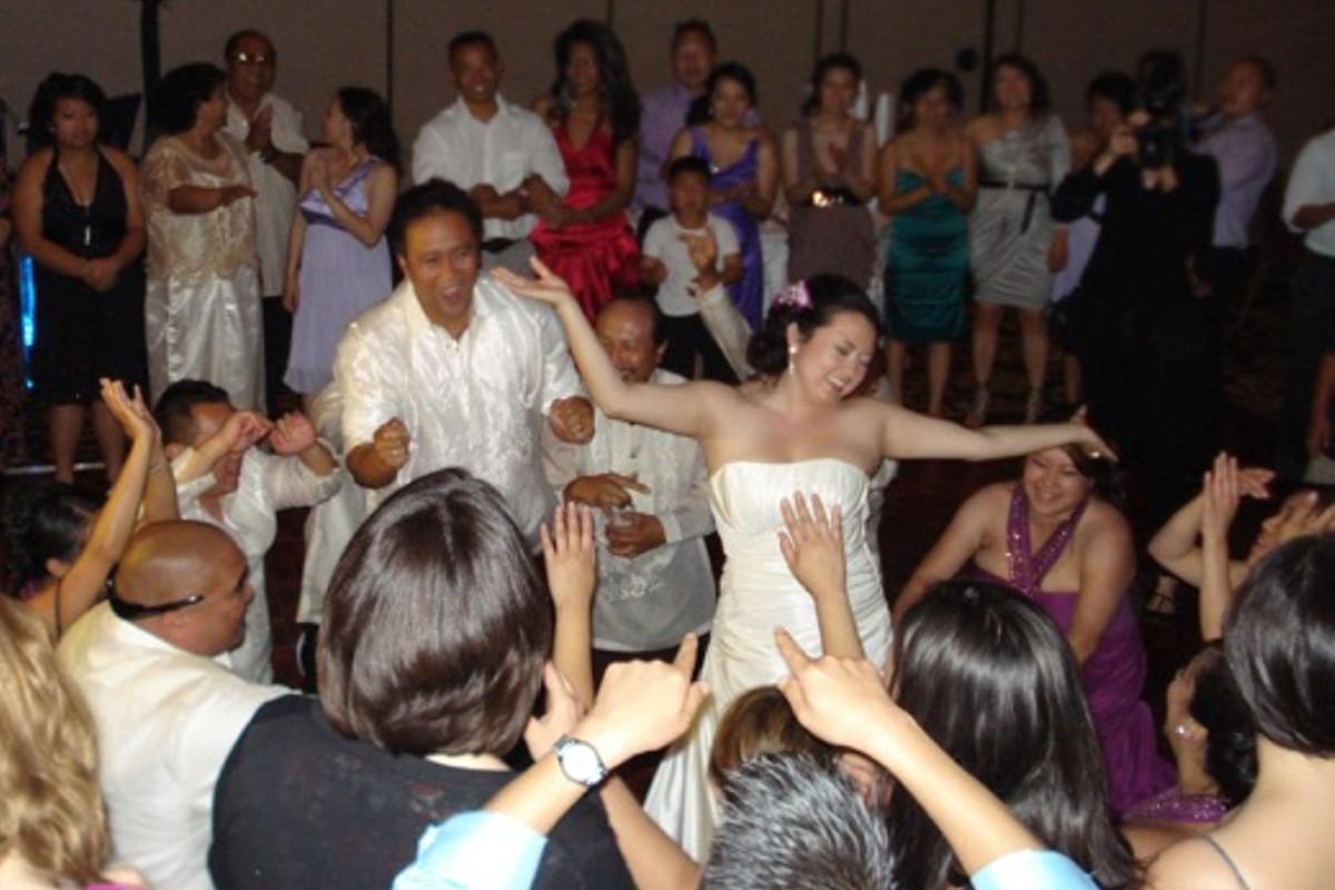 Music in Motion - Lake Tahoe weddings - bride dancing