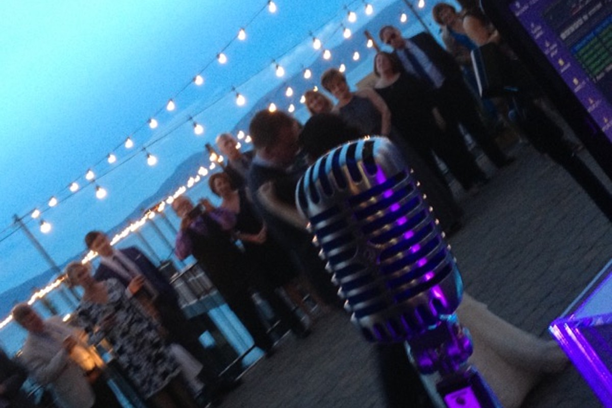 Music in Motion - Lake Tahoe weddings - first dance by lake