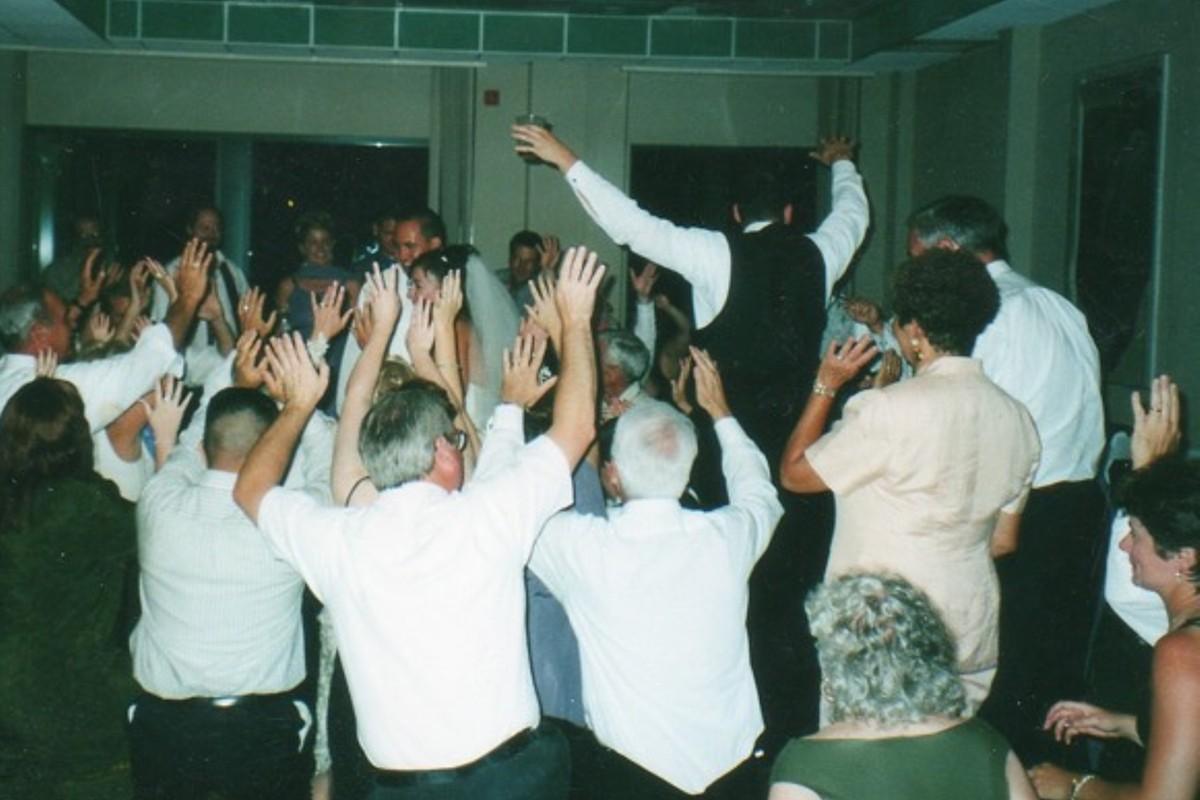 Music in Motion - Lake Tahoe weddings - Jewish wedding hora