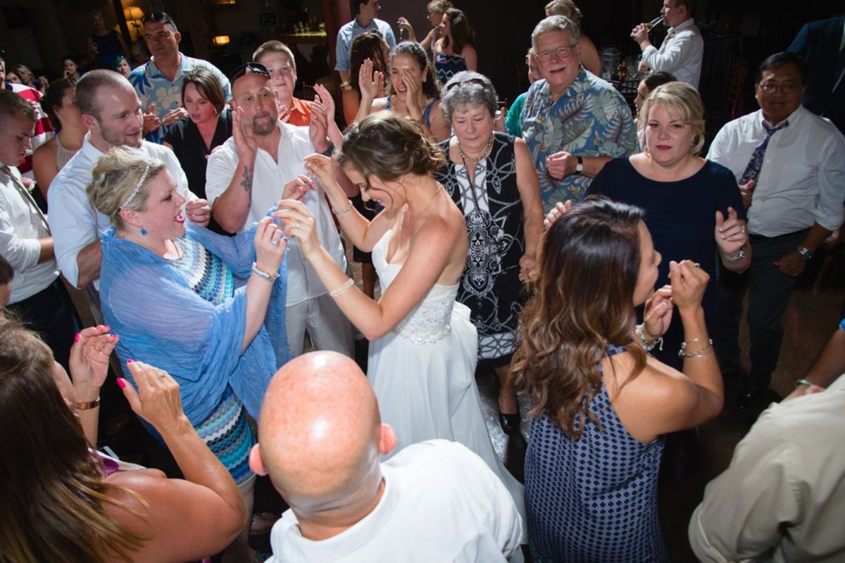 Music in Motion - Lake Tahoe weddings - bride with mother