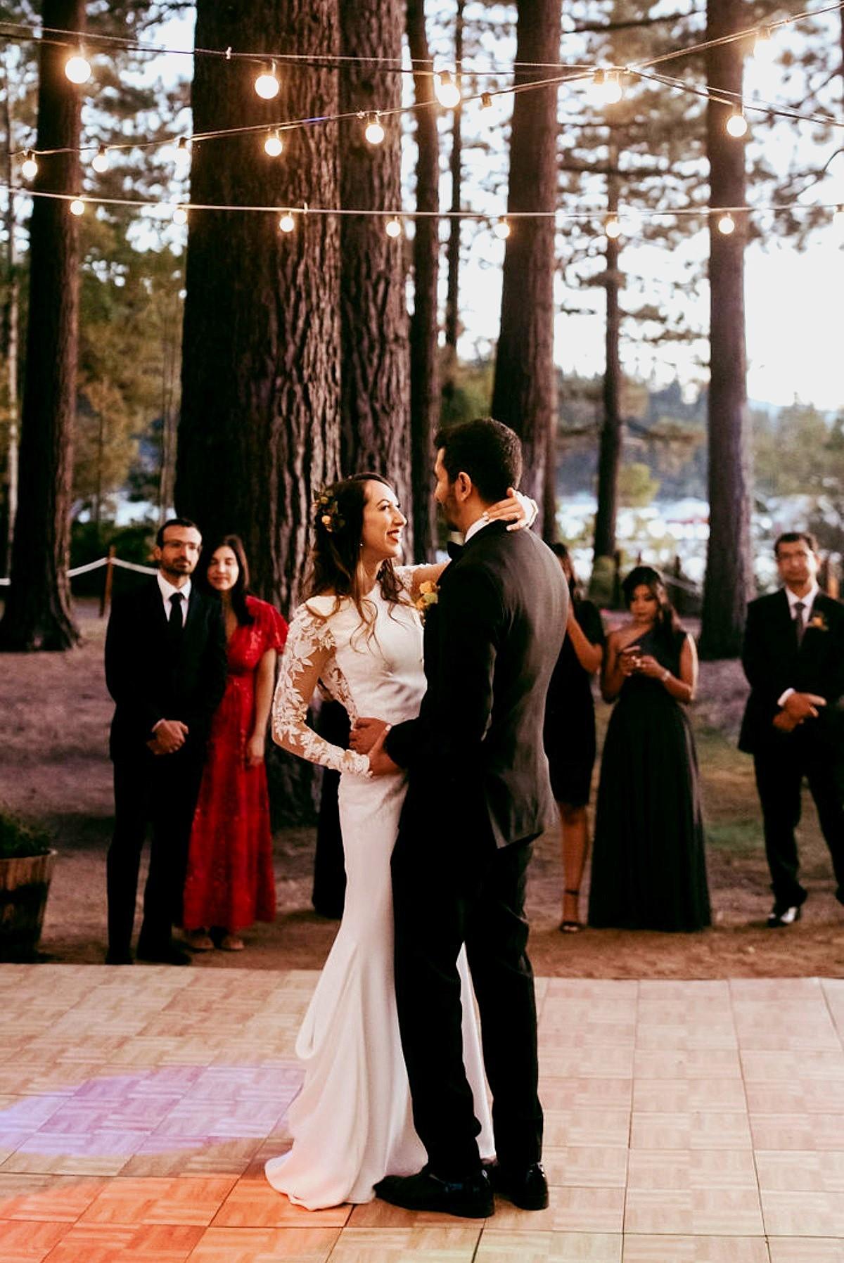 Nancy Rice Artistry - Lake Tahoe wedding hair & makeup - first dance
