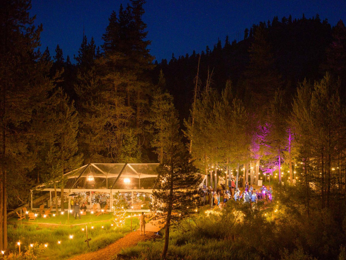 Lake Tahoe wedding on Truckee River