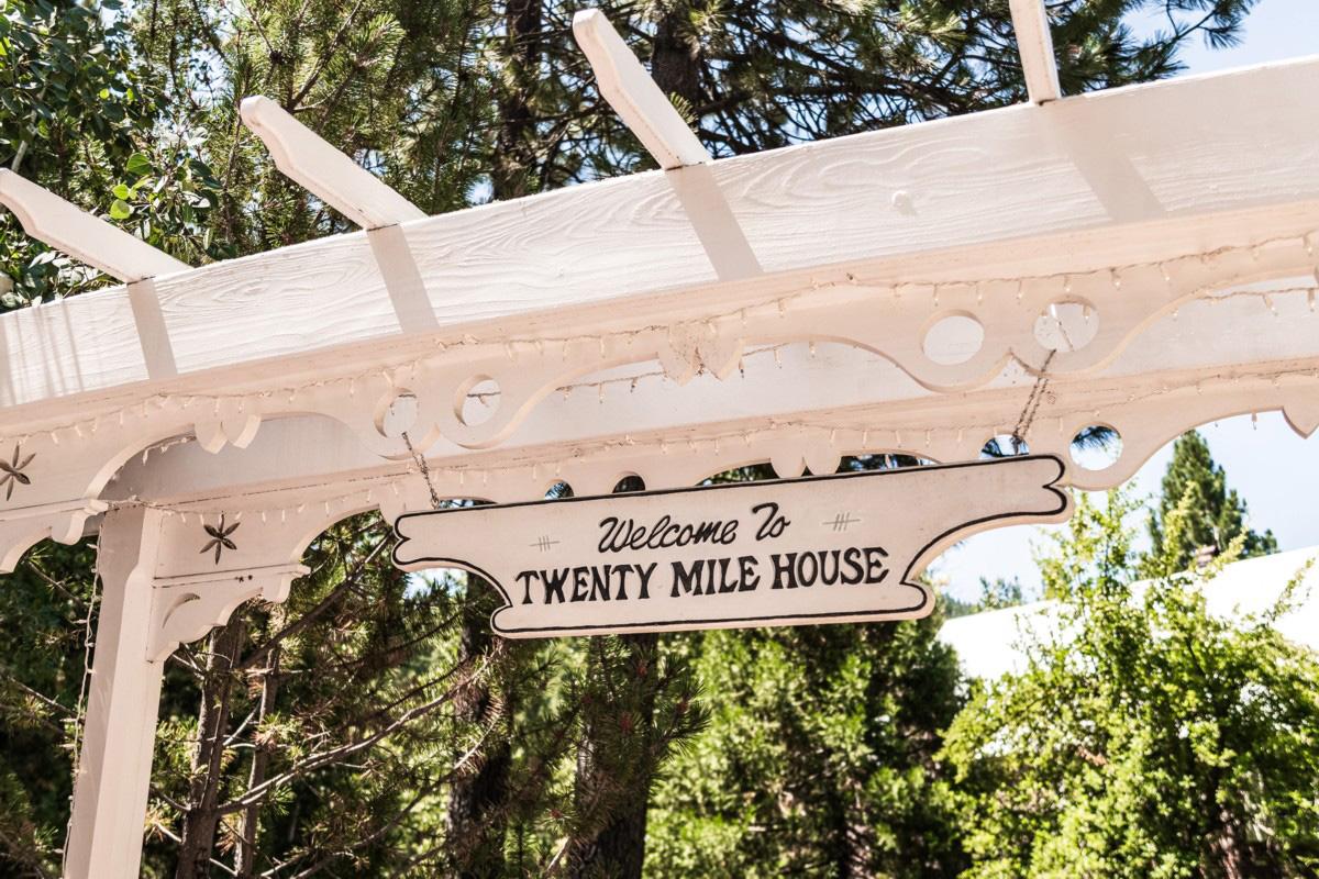 Forest Wedding near Lake Tahoe - Twenty Mile House venue