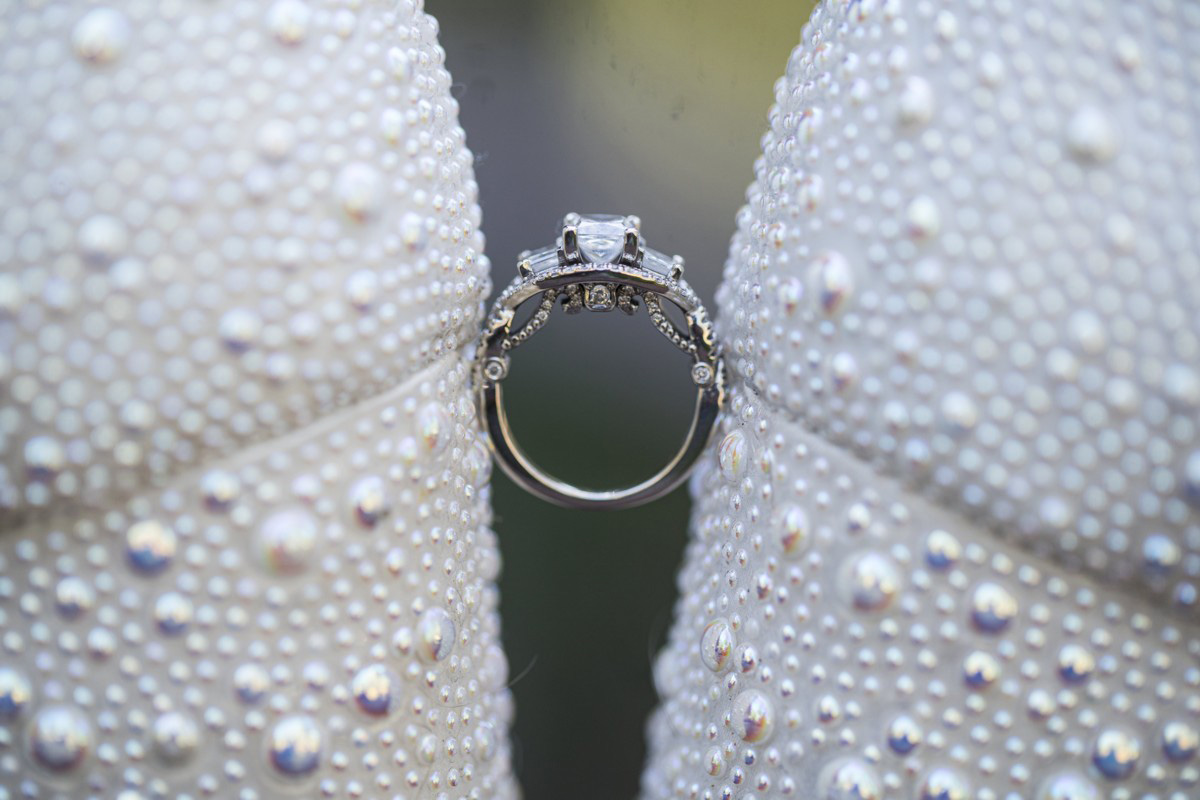 Forest Wedding near Lake Tahoe - bride's ring