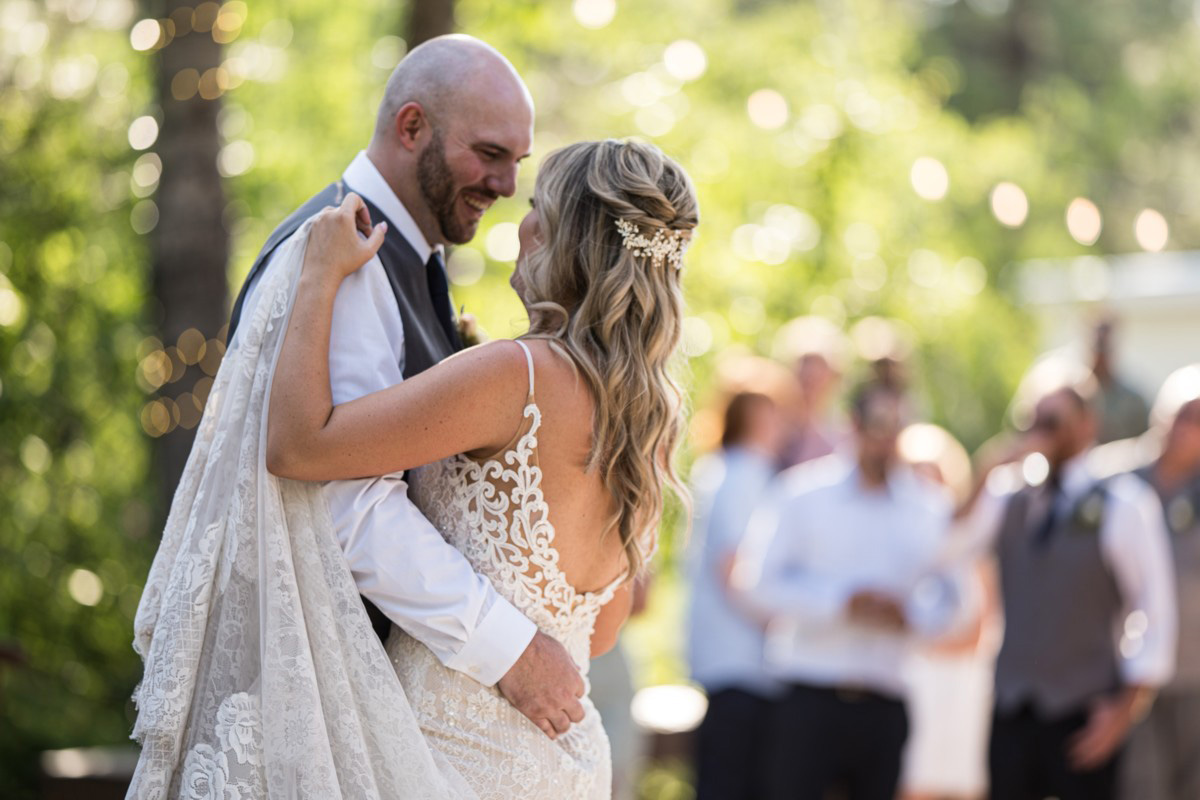 Forest Wedding near Lake Tahoe - the first dance