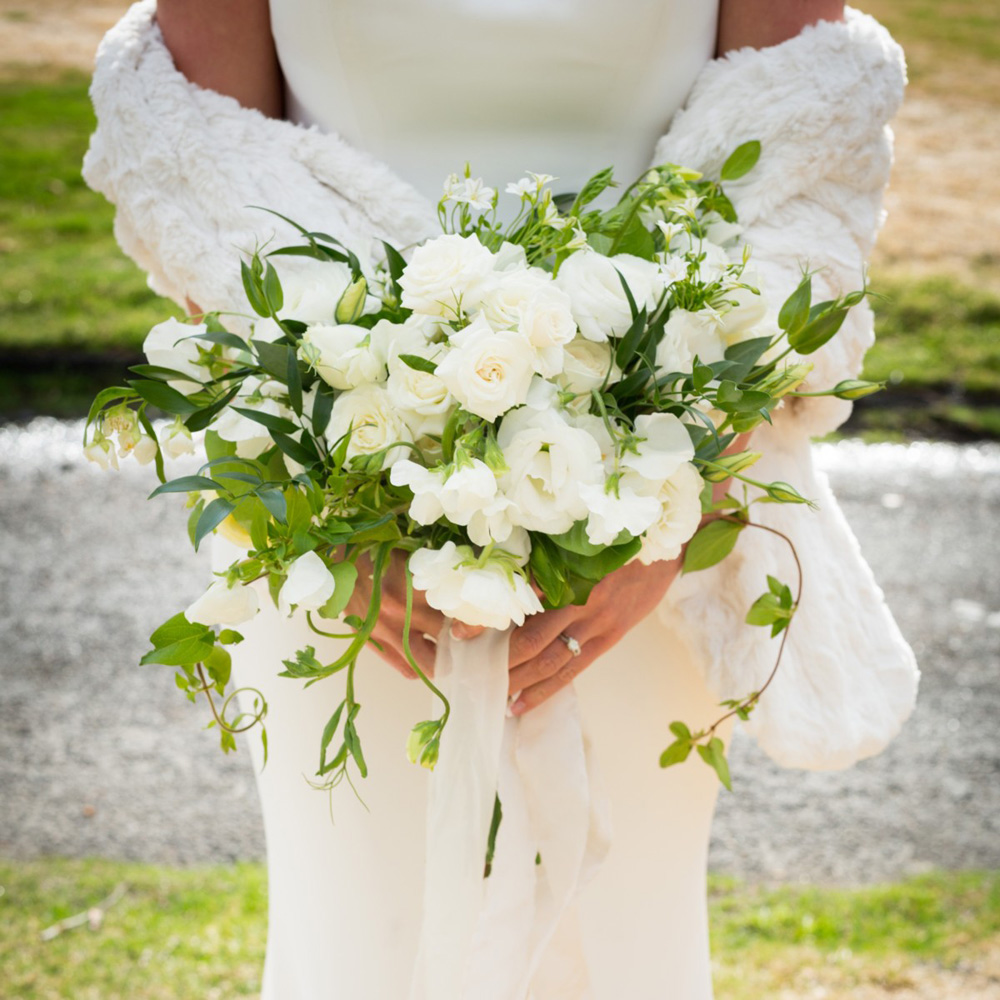 Resort at Squaw Creek Lake Tahoe wedding - bride's bouquet