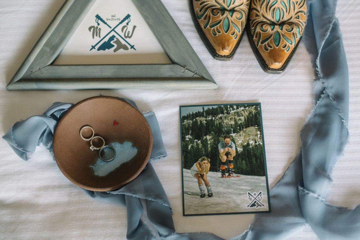 Squaw Valley wedding near Lake Tahoe - decor and accessories
