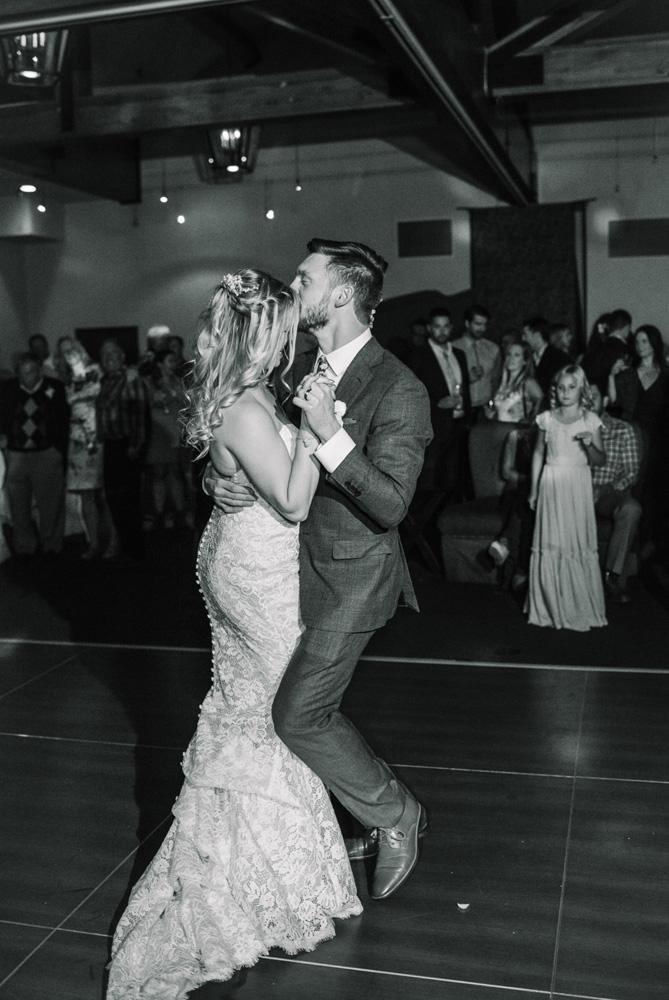Squaw Valley wedding near Lake Tahoe - first dance