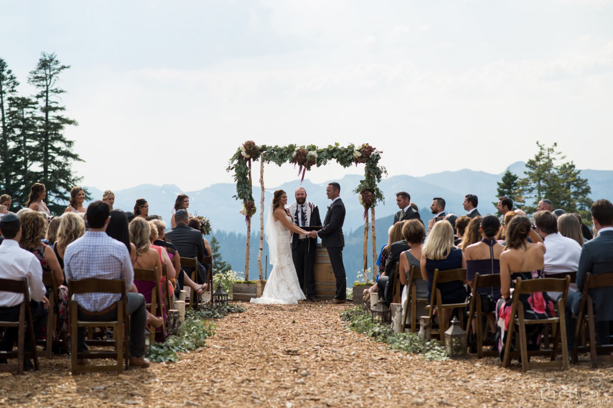 Northstar California Wedding Lake Tahoe ceremony