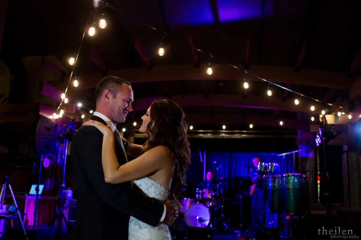 Northstar California Wedding Lake Tahoe first dance