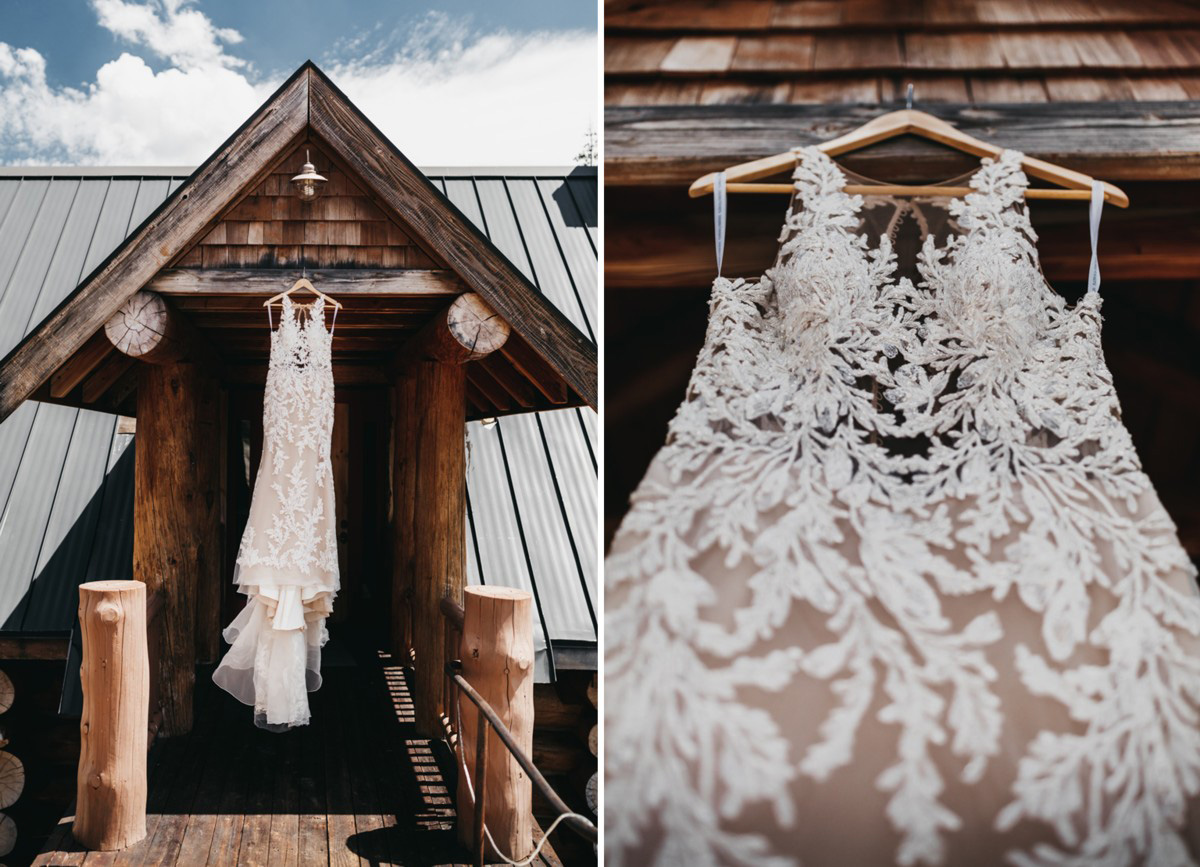 Wedding at The Hideout - VILD Photography - the dress