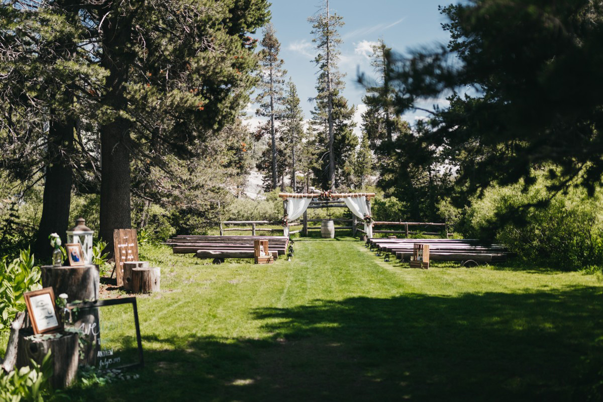 Wedding at The Hideout - VILD Photography - ceremony area