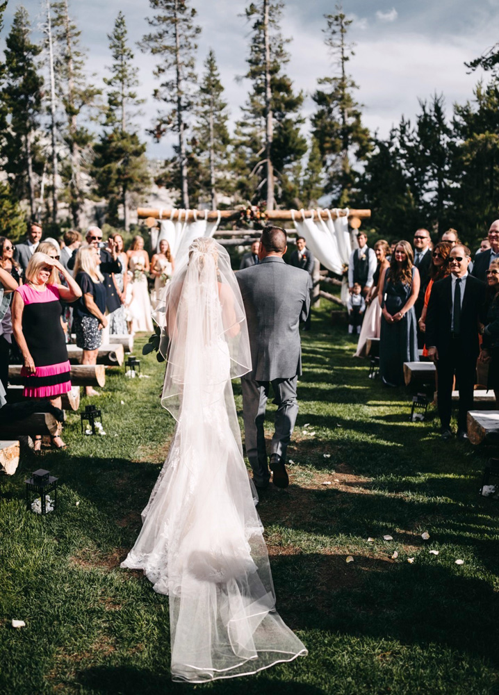 Wedding at The Hideout - VILD Photography - here comes the bride