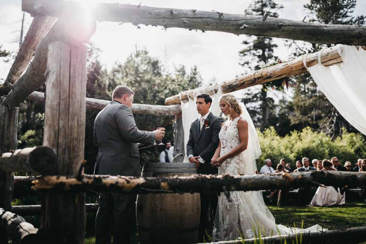 Wedding at The Hideout - VILD Photography - closeup of the altar