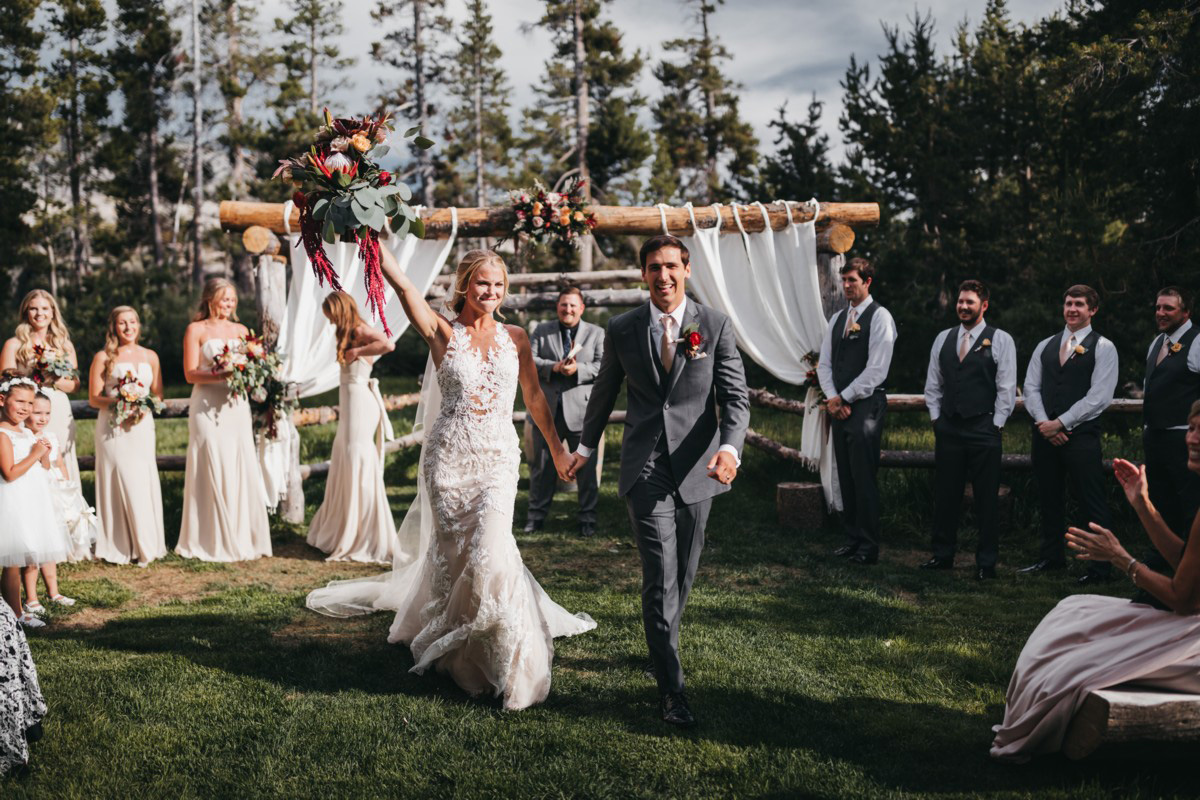 Wedding at The Hideout - VILD Photography - just married