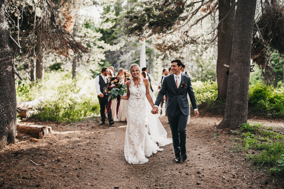 Wedding at The Hideout - VILD Photography - wedding party walking