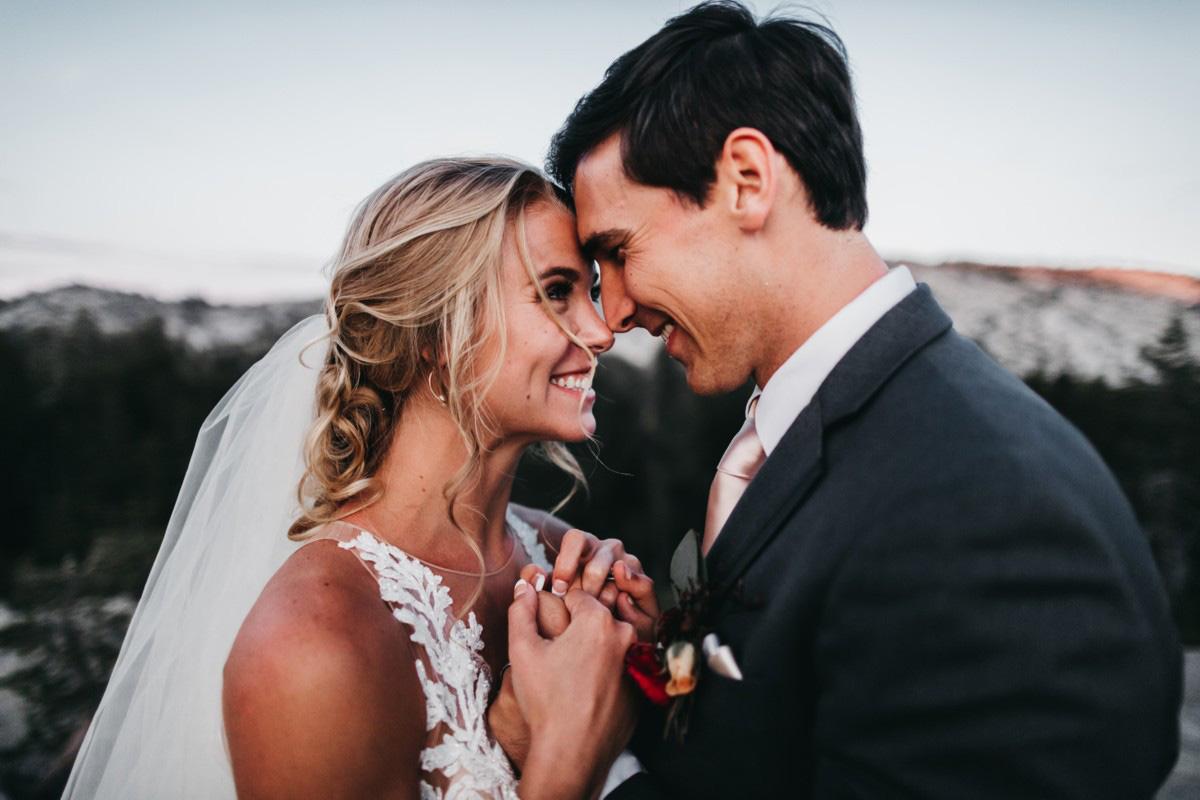 Wedding at The Hideout - VILD Photography - couple closeup