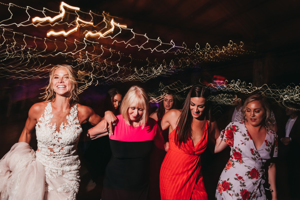 Wedding at The Hideout - VILD Photography - line dancing