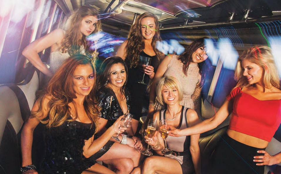 Ladies in Party Bus