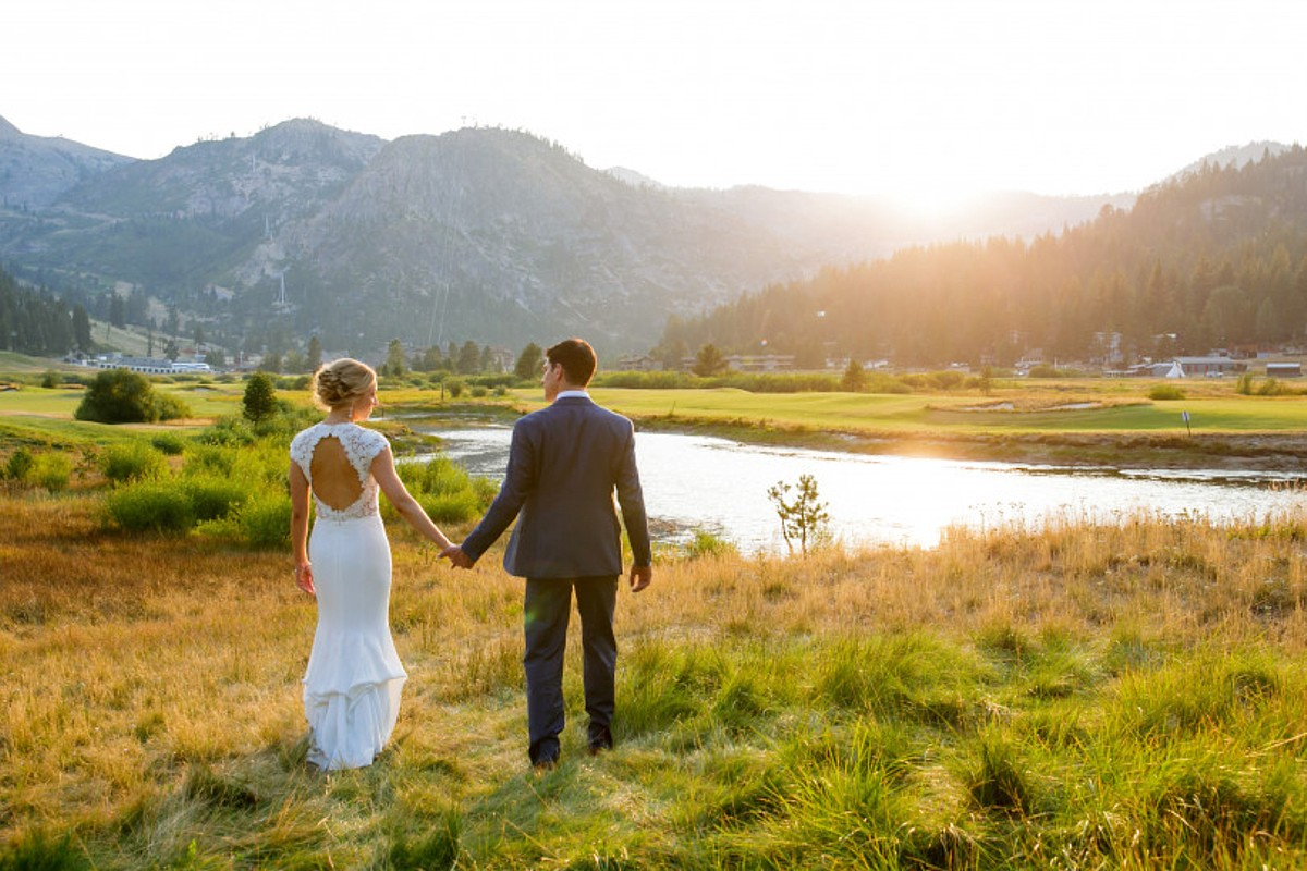 Nice Picture in Meadows - Resort at Squaw Creek - Lake Tahoe wedding