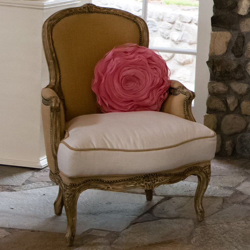 lounge furniture with pillow