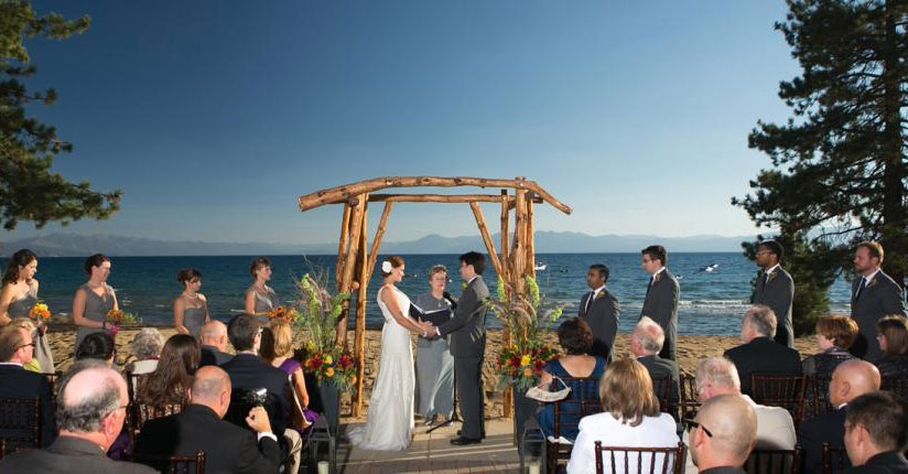 Kings Beach wedding at North Tahoe Event Center