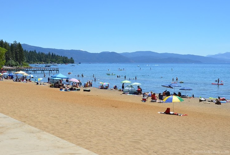 Kings Beach in summer